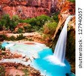 Havasu Falls  Havasupai Indian...