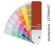 color samples to determine