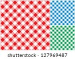 tablecloths vector background. | Shutterstock .eps vector #127969487