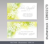 Business Card Set.  Colorful...