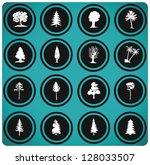 vector illustration of tree...   Shutterstock .eps vector #128033507