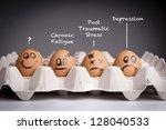 mental health concept in... | Shutterstock . vector #128040533