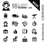basic   logistic and shipping...   Shutterstock .eps vector #128081843