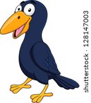 raven cartoon | Shutterstock . vector #128147003