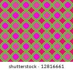 op art superimposing magenta... | Shutterstock . vector #12816661