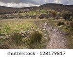 footpath from kinder scout to...