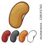 beans | Shutterstock .eps vector #128191763
