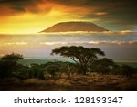 Mount Kilimanjaro And Clouds...