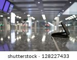 Lost Wallet at the airport - stock photo