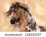 A Digital Render Of A Horse  A...