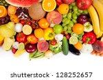 Huge Group Of Fresh Vegetables...