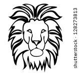 lion symbol outline