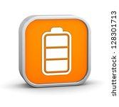 battery charge status. part of... | Shutterstock . vector #128301713