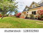 Yellow House Exterior With...