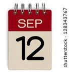 12 September Calendar