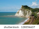 Beautiful White Cliffs Near...