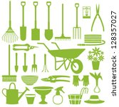 Gardening Related Icons