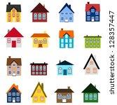 House Set   Colourful Home Ico...
