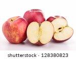 fresh apples | Shutterstock . vector #128380823