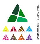 design arrow logo element.... | Shutterstock .eps vector #128424983