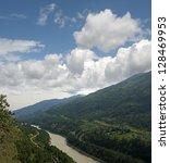 Small photo of Fraser River by Kanaka Bar, British Columbia, Canada