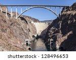 Hoover Dam Bypass Bridge Canyo...