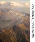 bird eye view of himalai... | Shutterstock . vector #128501537