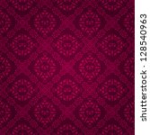beautiful dark purple vintage... | Shutterstock .eps vector #128540963