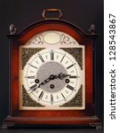 Old Table Clock With...