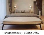interior design series of nice ... | Shutterstock . vector #128552957