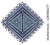 beautiful ethnic ornament | Shutterstock .eps vector #128586677
