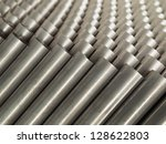 top close up steel pipe for use ... | Shutterstock . vector #128622803