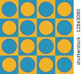 op art squared circles pale... | Shutterstock . vector #12863080