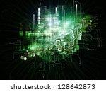 beyond geometry series.... | Shutterstock . vector #128642873