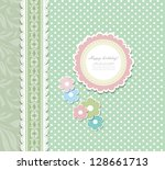 vintage background for... | Shutterstock .eps vector #128661713