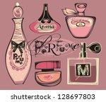 resumo,trabalho artístico,plano de fundo,beleza,preto,garrafa,arco,decoração,desenhar,moda,perfumaria,vidro,ilustração,rosa,varejo