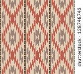 ethnic american navajo inspired ... | Shutterstock .eps vector #128748743