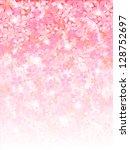 bubbles background cherry   Shutterstock .eps vector #128752697