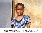 Cute Young Black African Girl