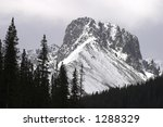 high mountain peak in cameron... | Shutterstock . vector #1288329