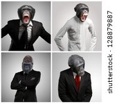 Series Of A Businessman With...