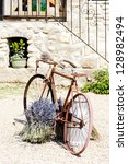 bicycle, Provence, France - stock photo