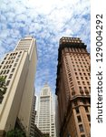 Buildings in Sao Paulo, Brazil, South america. - stock photo