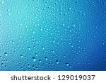 Blue Abstract Water Drops...