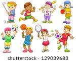 Illustration Of Children...