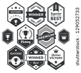 collection of premium vector... | Shutterstock .eps vector #129052733