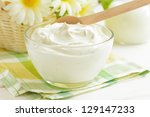 yogurt | Shutterstock . vector #129147233
