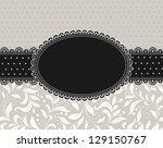template  frame design for...   Shutterstock .eps vector #129150767