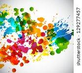 splash background. raster... | Shutterstock . vector #129277457