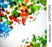 splash background. raster... | Shutterstock . vector #129277493